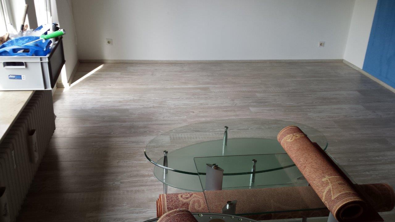 Galerie Renovierungen. Wohnung Komplett Gestrichen Und Laminat Gelegt